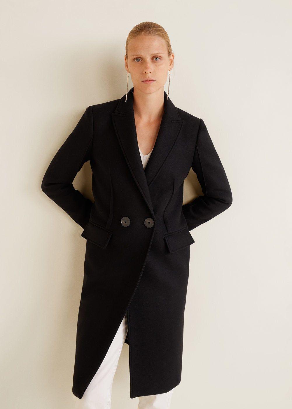 11d43cfedc41 Structured wool coat - Women