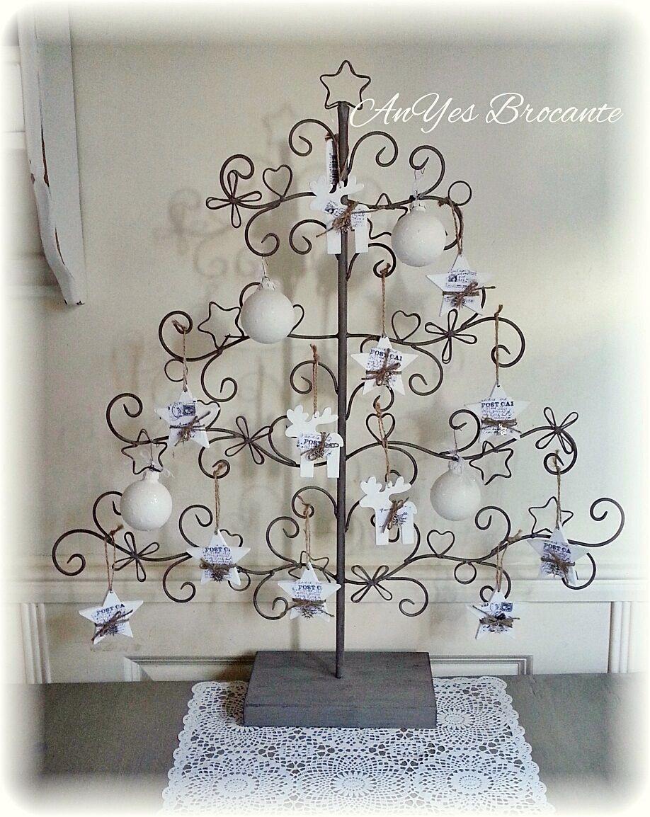 Brocante Kerstboom Metaal Www Anyes Brocante Nl Hezke Vanocni