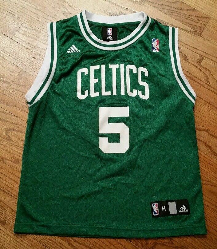 8ac7d66c14e Kevin Garnett Boston Celtics Jersey Youth Medium Adidas basketball New Free  Ship #adidas #BostonCeltics