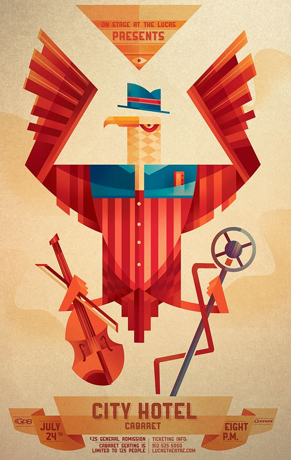 Lucas Theatre Event Posters on Behance