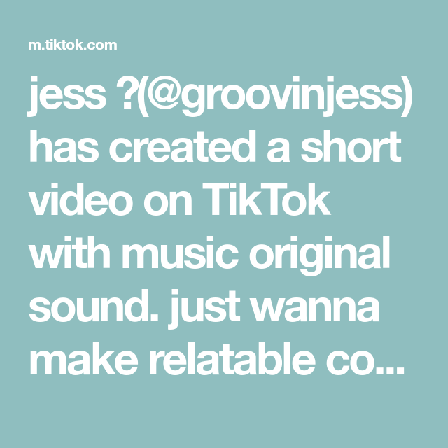 Jess Groovinjess Has Created A Short Video On Tiktok With Music Original Sound Just Wanna Make Relatable Content Fo Yangyang Wayv The Originals Relatable