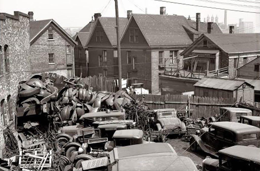 scrap drives ww2 - Google Search | Vintage auto wreckers ...