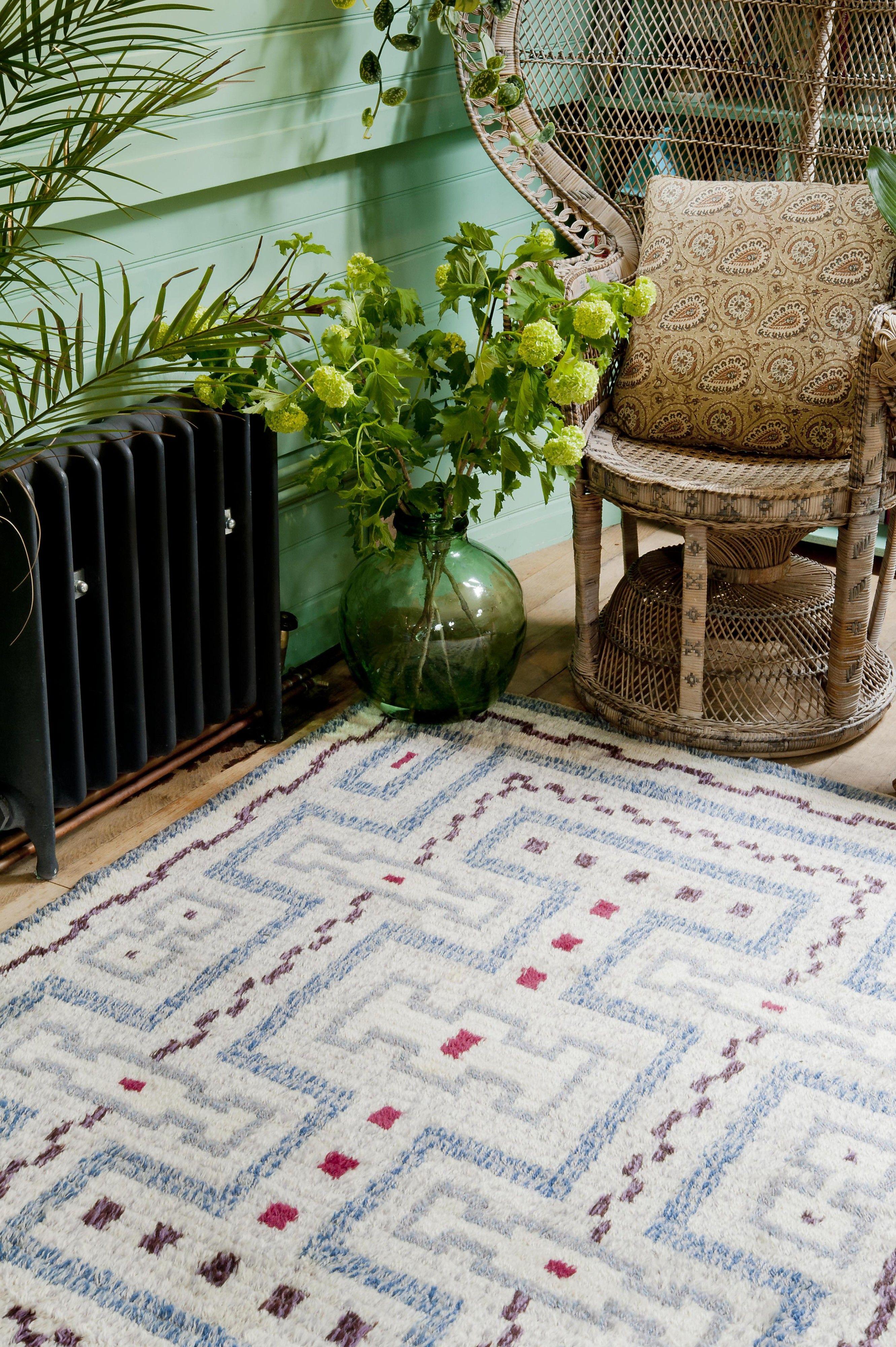 A carpet circa 1960