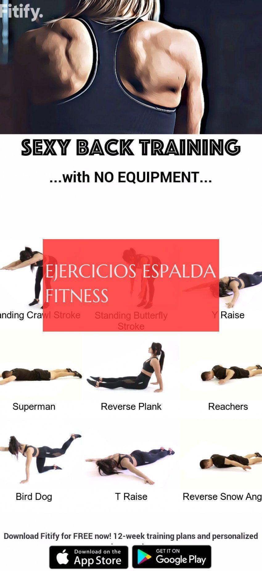 ejercicios espalda fitness #ejercicios #espalda #fitness