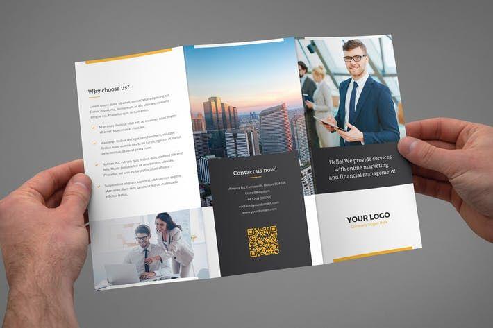 Brochure ¨C Marketing Tri-Fold by artbart Art Design Inspiration