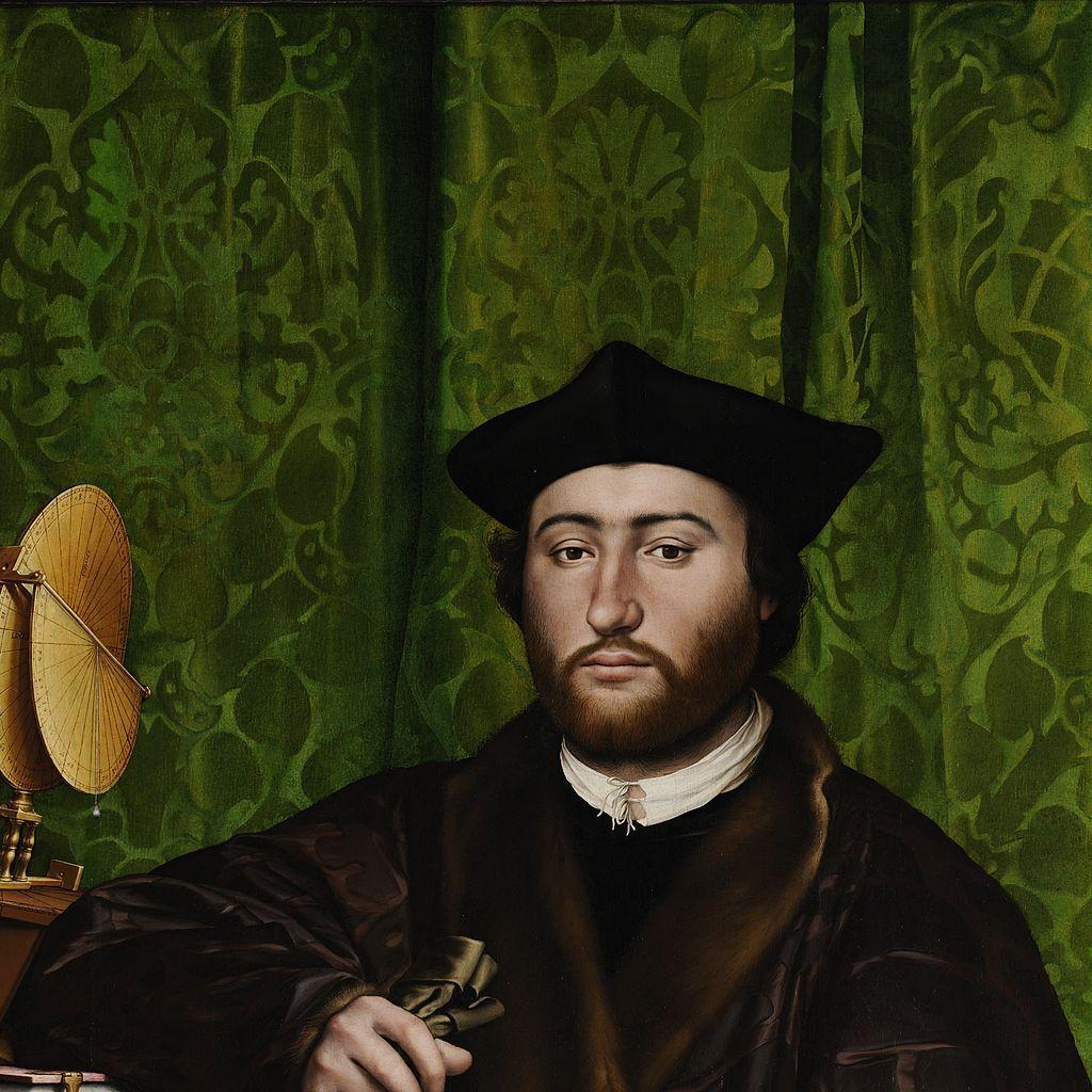 Detail - Ambassadors 1533 Hans Holbein