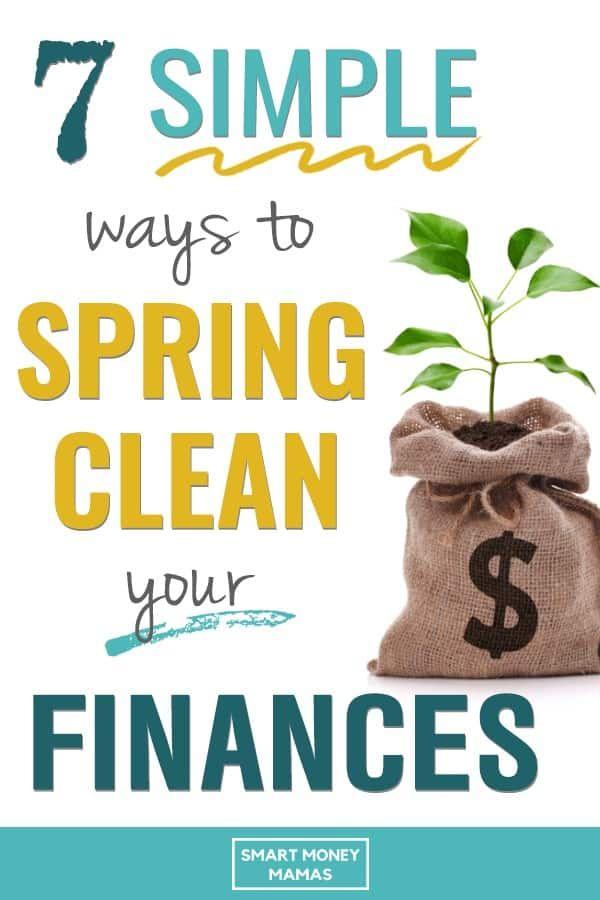 Verwenden Sie diese 7 Tipps, um Ihre Finanzen im Frühjahr zu reinigen. Sie finden Möglichkeiten, um Geld zu sparen, …   – Budgeting Tips