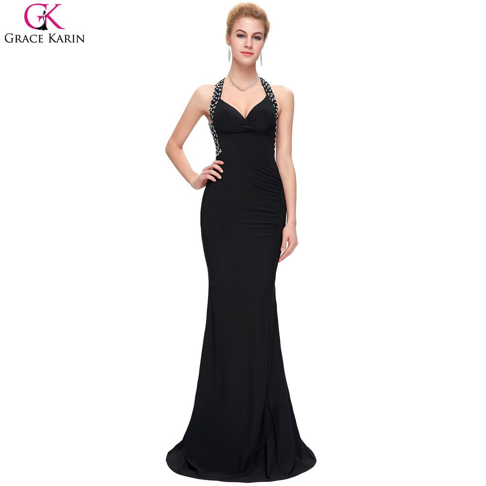 Click to buy ucuc grace karin mermaid evening dresses women sexy