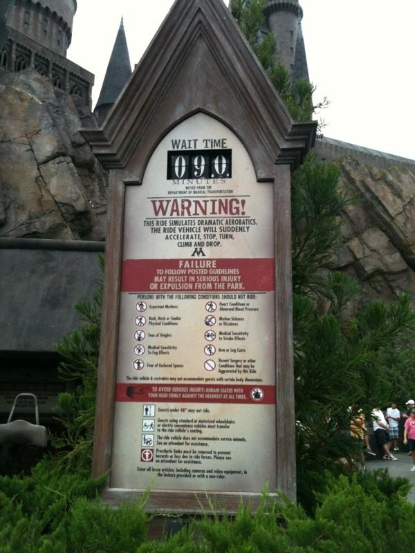 The Forbidden Journey Wait Time Wizarding World Of Harry Potter Islands Of Adventure O Wizarding World Of Harry Potter Islands Of Adventure Wizarding World