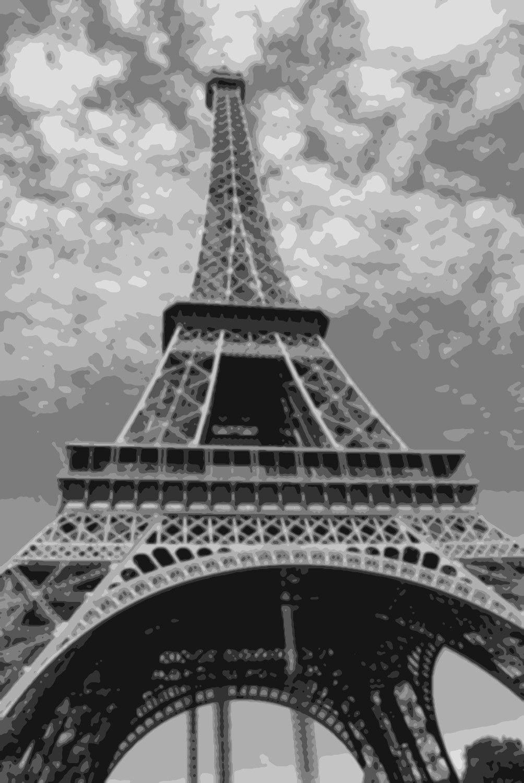 Eiffel tower paris painting by numbers in 2020