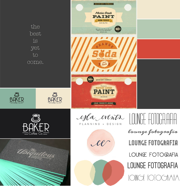 moodboard for graphic design project for wedding photographer menina lisboa - Ideas For Graphic Design Projects