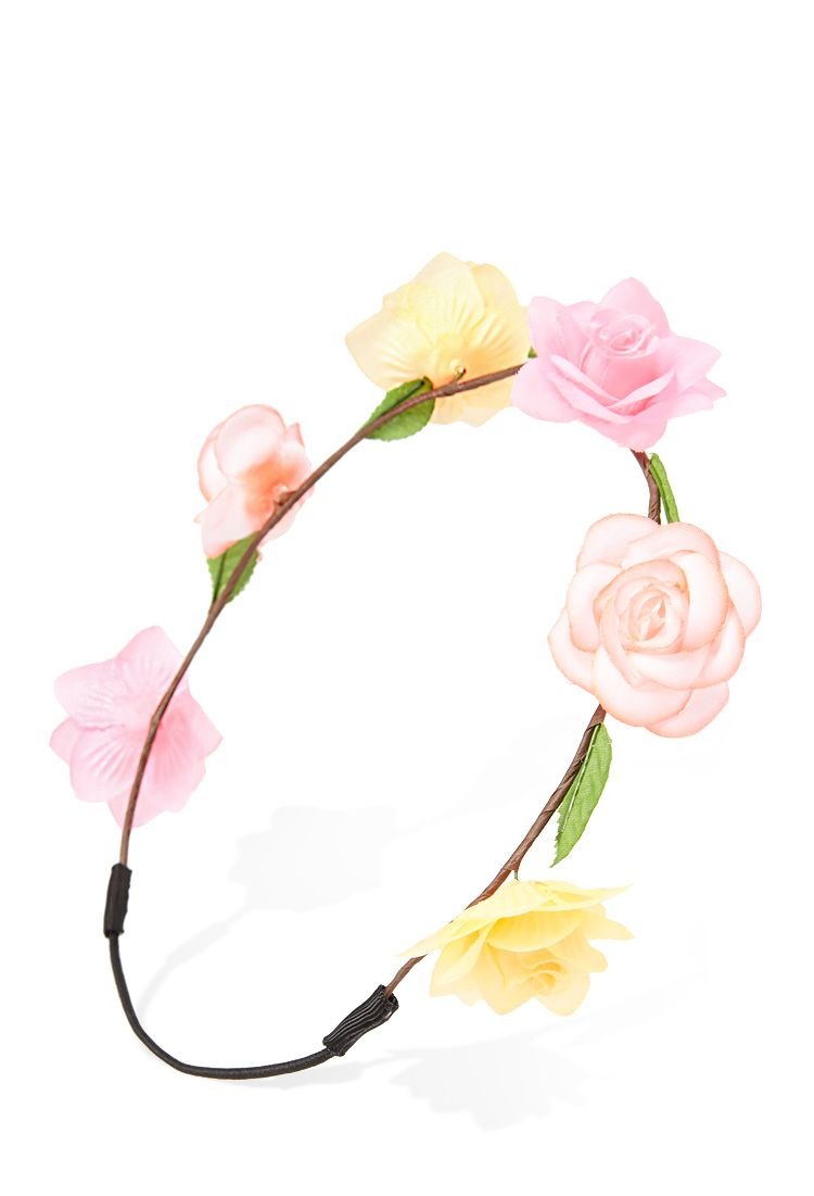 Neon Flower Crown Forever21 Accessories My Style Pinterest