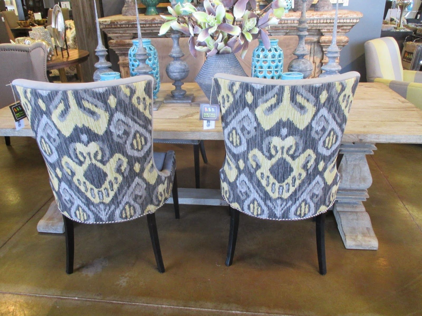 Ikat Dining Chairs Google Search Dining Chairs Chair Furniture