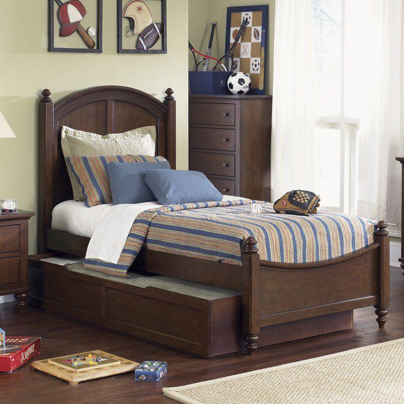 Best Liberty Furniture Abbott Ridge Trundle Bed Lfi1245 400 x 300