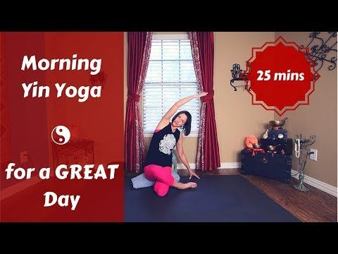 morning yin yoga  yin yoga full body stretch yin yoga poses