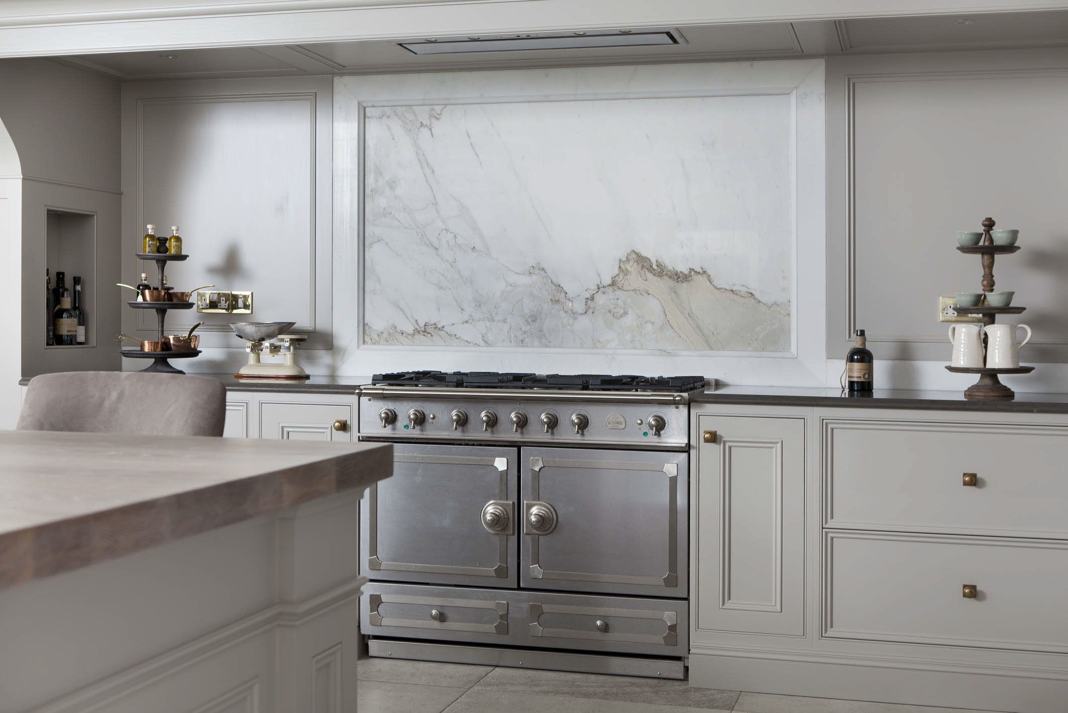 La cornue range cooker Kitchen marble, Kitchen design
