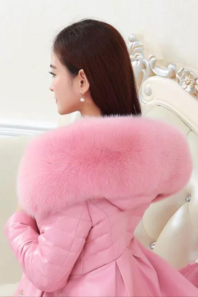 So soft pink fur