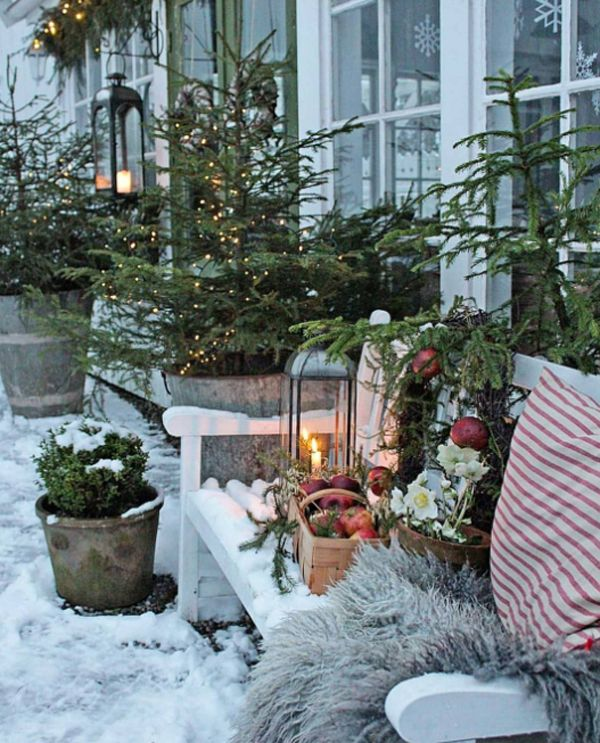 27 Most Beautiful Winter Garden Ideas That You Will Miss Now #wintergardening