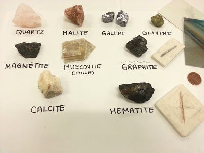 mineral identification labs