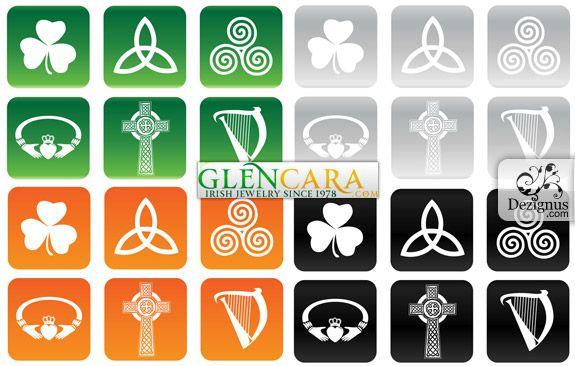 Symbols Of The Irish Kiss Me Im Irish Pinterest Symbols