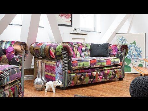 3 Seater Fabric Sofa Patchwork Purple Chesterfield Beliani Com Sitting Room Decor Classic Chesterfield Sofa Sofa