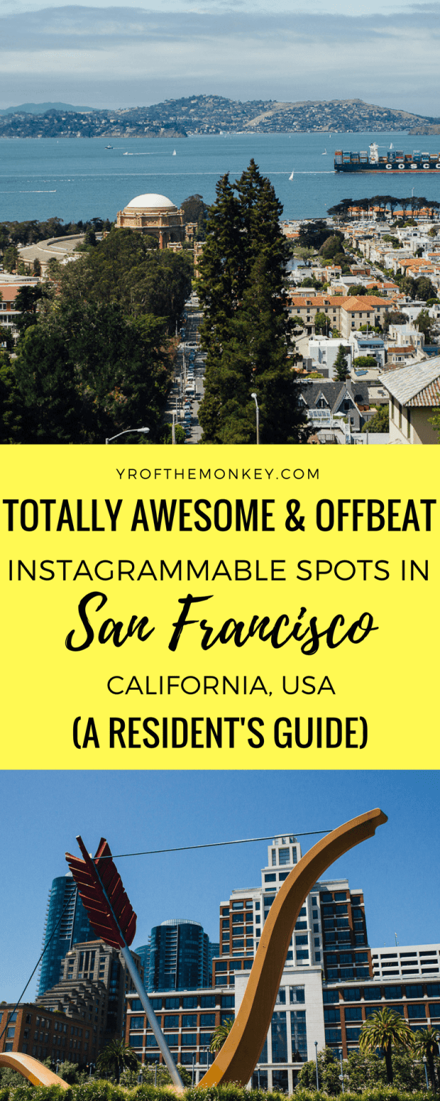 San Francisco Instagram Spots Local S Guide To Offbeat Gems California Travel Road Trips San Francisco Travel Guide California Travel