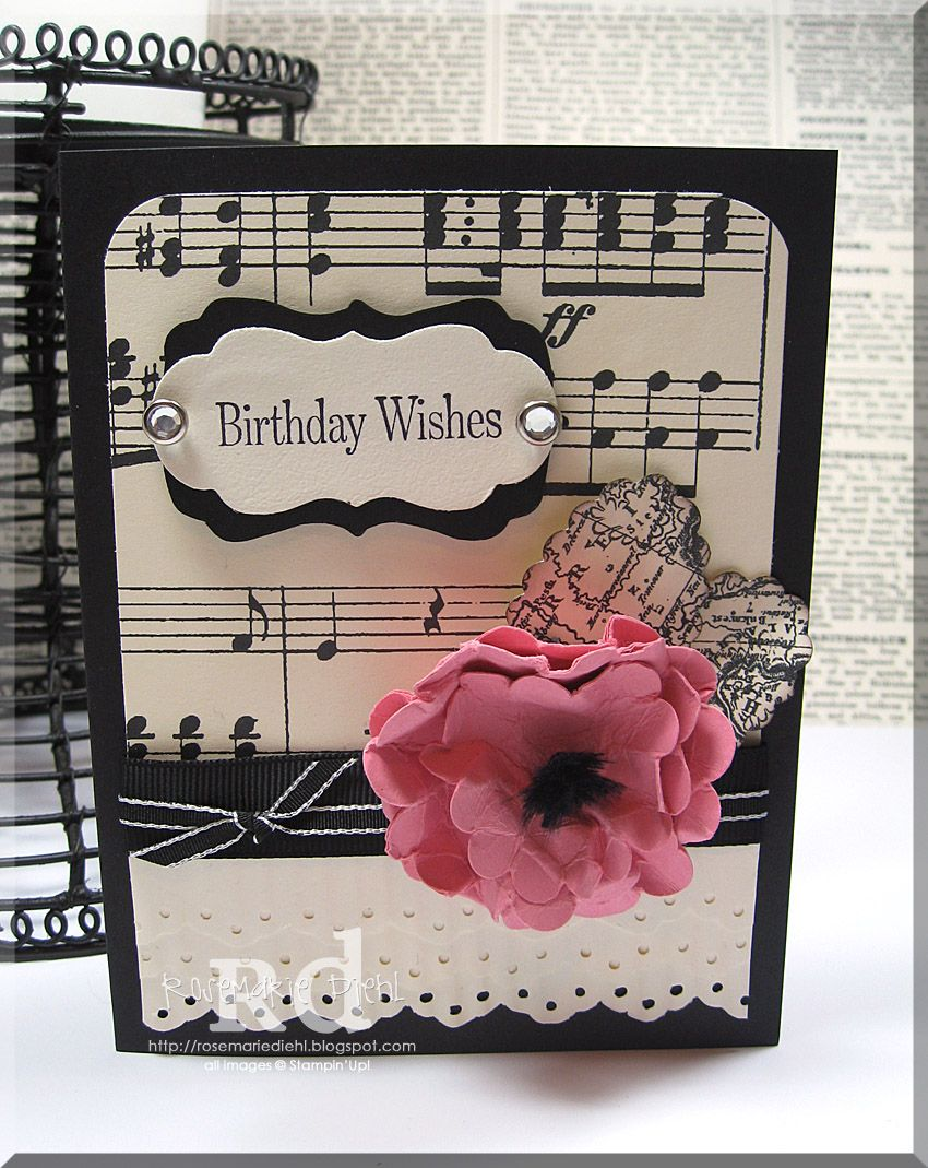 Musical Wishes Birthday Cards