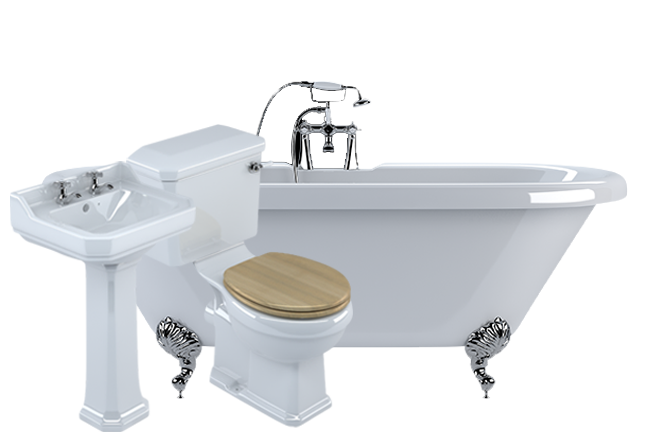 Traditional Suite Freestanding Bath Pack Bathroom Suites Bathrooms Com Free Standing Bath Bathroom Bathroom Suites