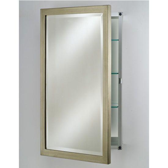 Afina Basix Medicine Cabinets - Wood Framed Door | Kitchen and Bath ...
