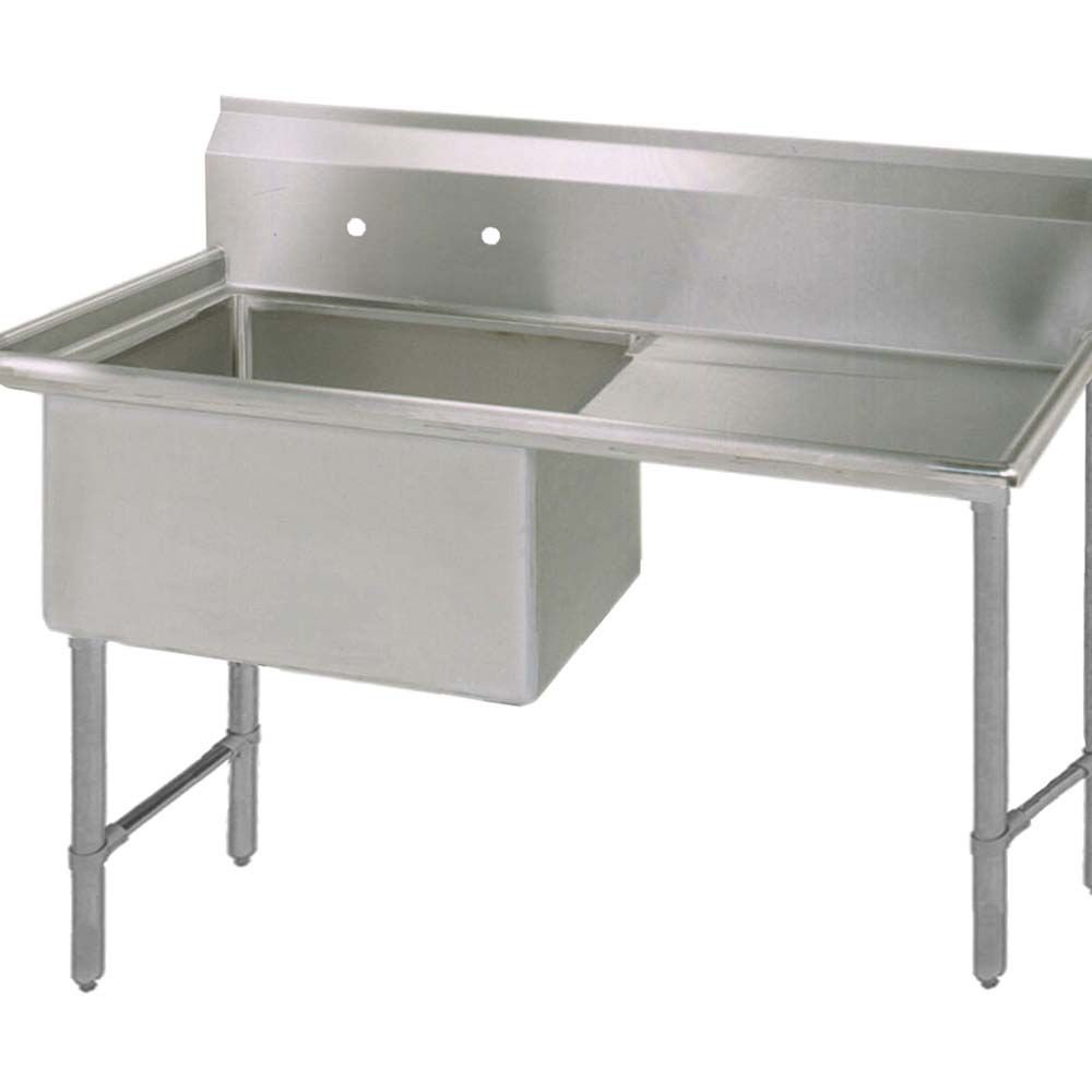 Bk Resources Bks6 1 1620 14 18rs One Compartment Sink 16 X 20
