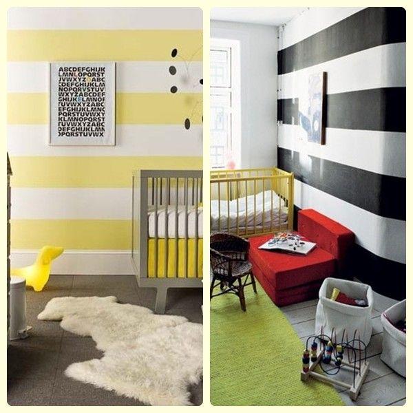 Empapelar la habitaci n del beb dormitorio unisex for Habitaciones infantiles unisex