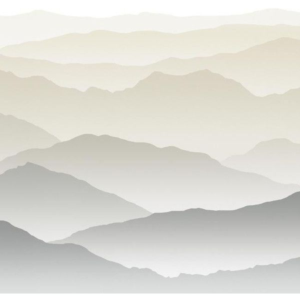 Wanderwall Mural In Greys Design By York Wallcoverings 295  E2 9d A4 Liked On Polyvore Featuring Home Home Decor Backgrounds Art Mountains Fillers