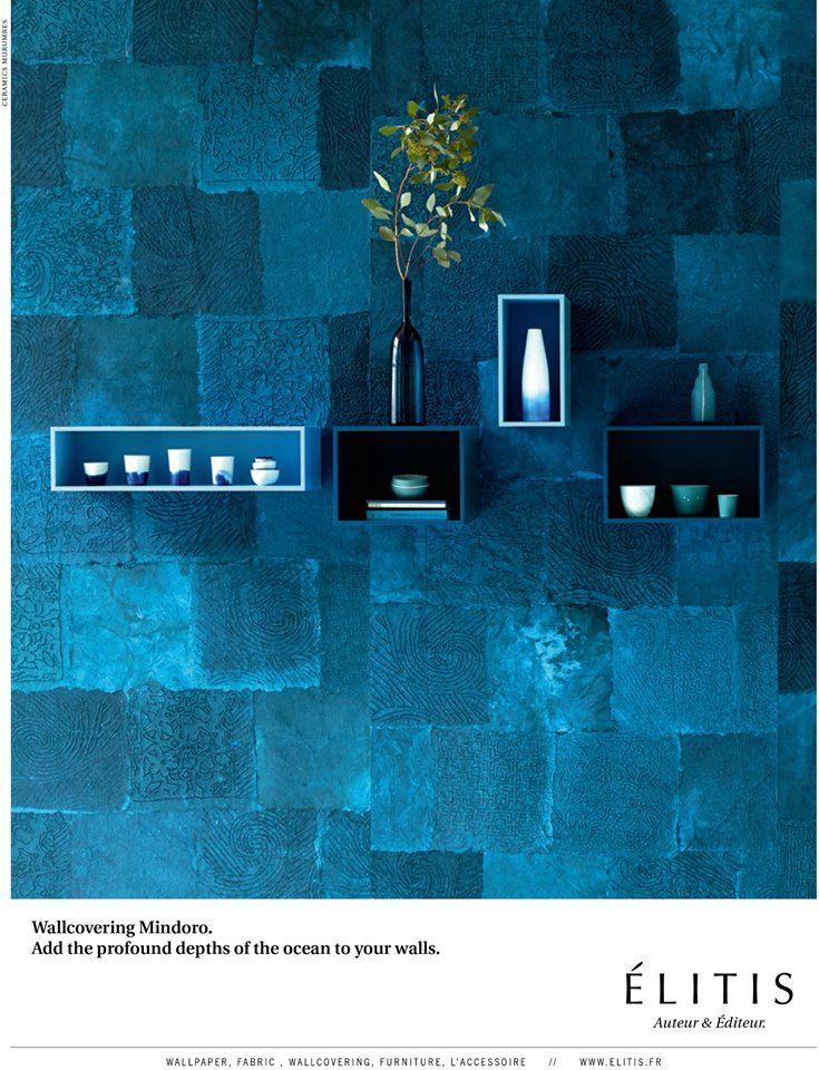 Sumérgete en las profundidades del océano con la colección Mindoro de Élitis - Más info: http://lemurier.net/