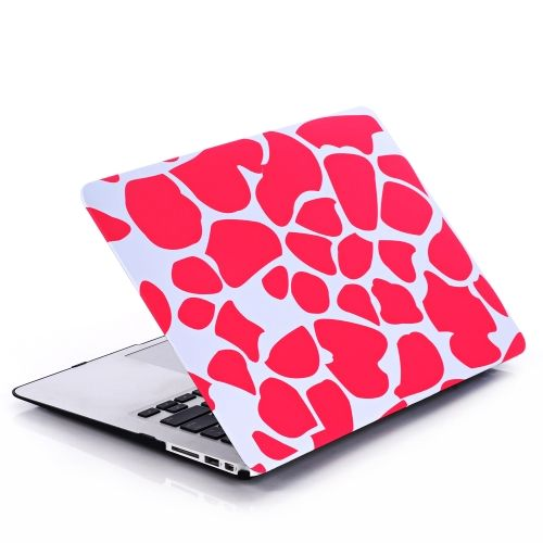 Ultra Thin Light Weight Black White Zebra Circle Spiral Pattern Laptop Hard Case Shell Cover for Apple Macbook Retina 13 13.3in