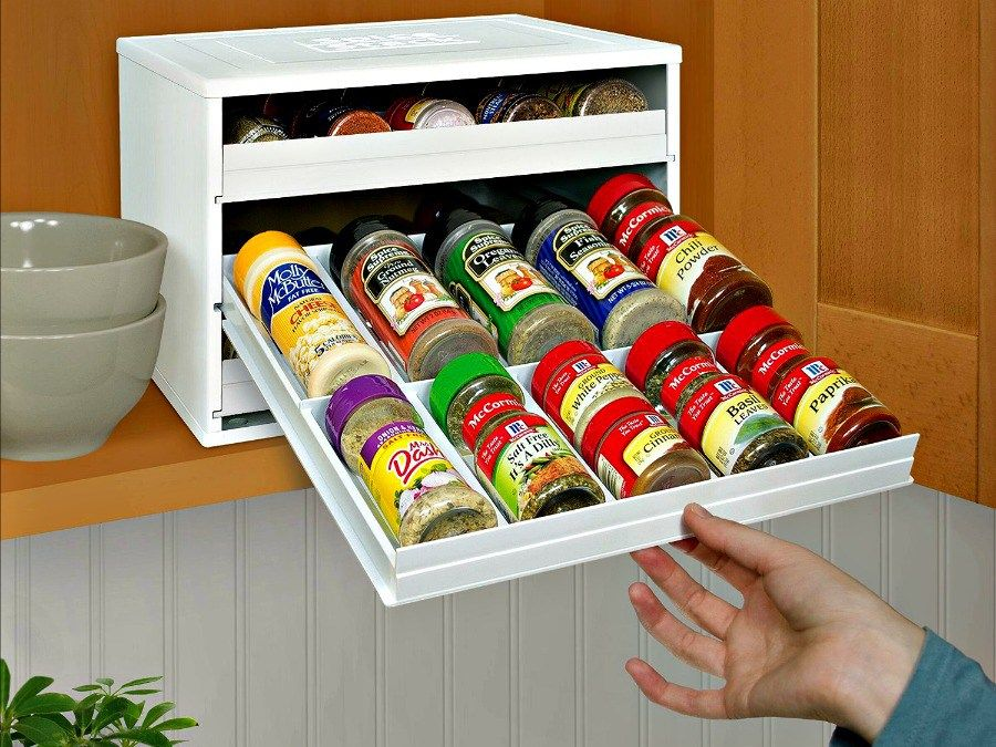 Spicestack Organize Your Spice Bottles Like A Pro Getdatgadget