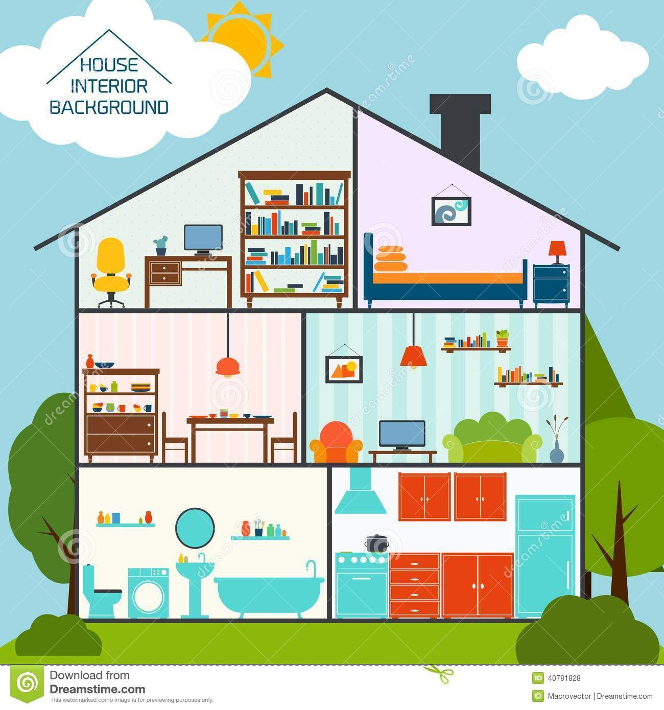 Image Result For Inside Apartment Clipart