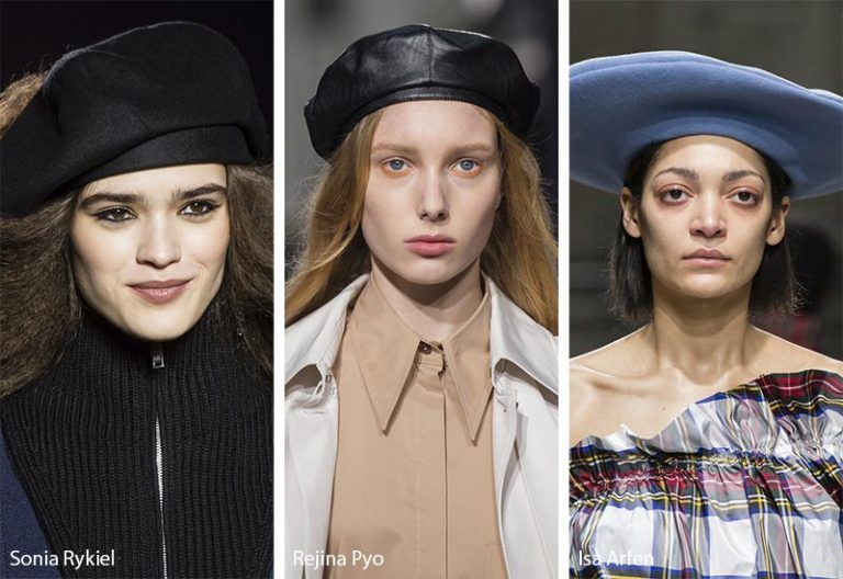 3afc9392517 Fall  Winter 2018-2019 Hat Trends  Military and French Berets