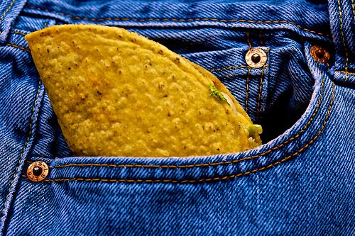 awesome Taco In My Pocket