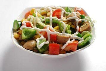 Bonasera Salad Veg Salad From Slice Of Italy Italian Recipes