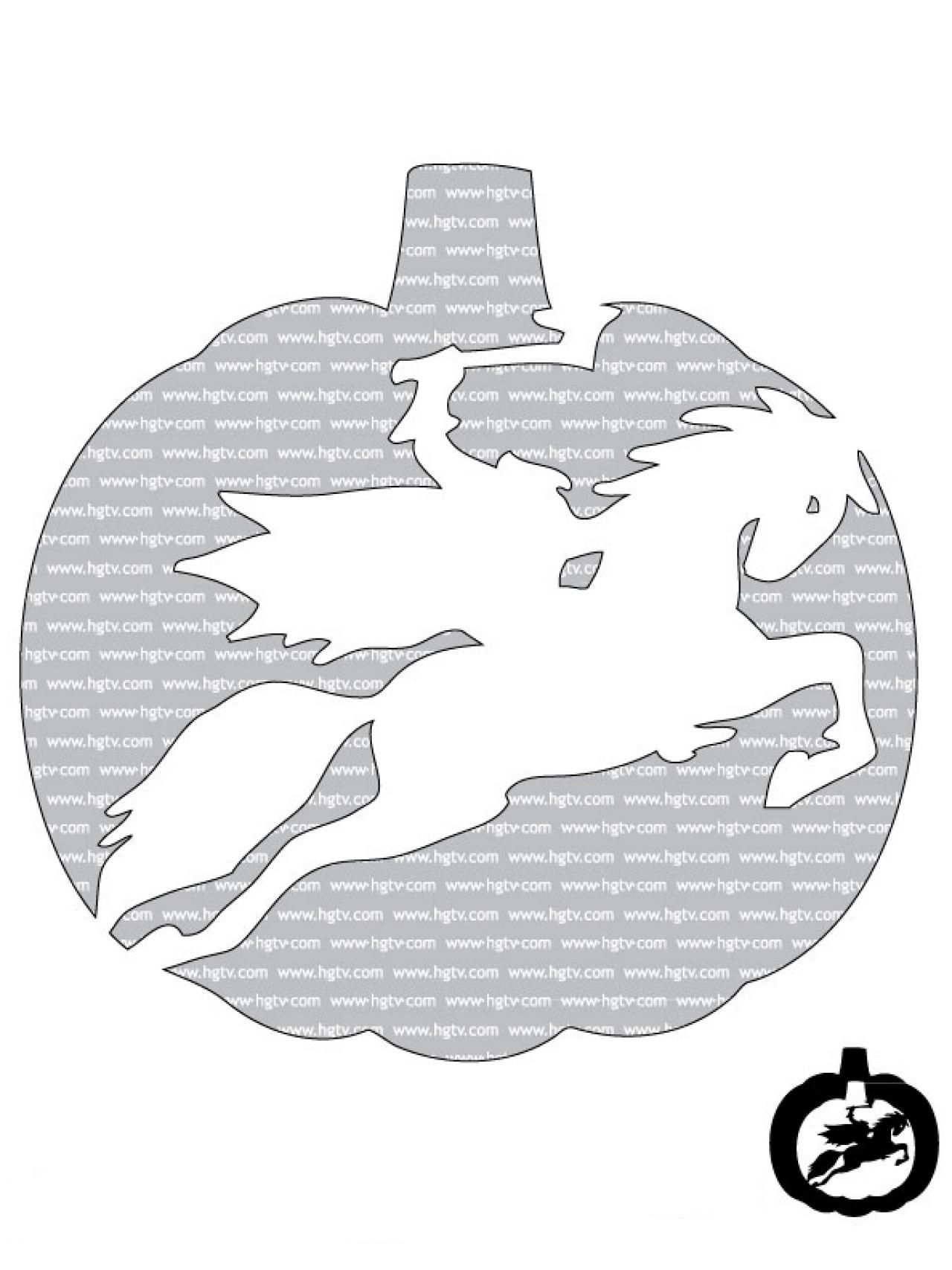 41 Printable (and Free!) Halloween Templates   Pumpkin carvings ...