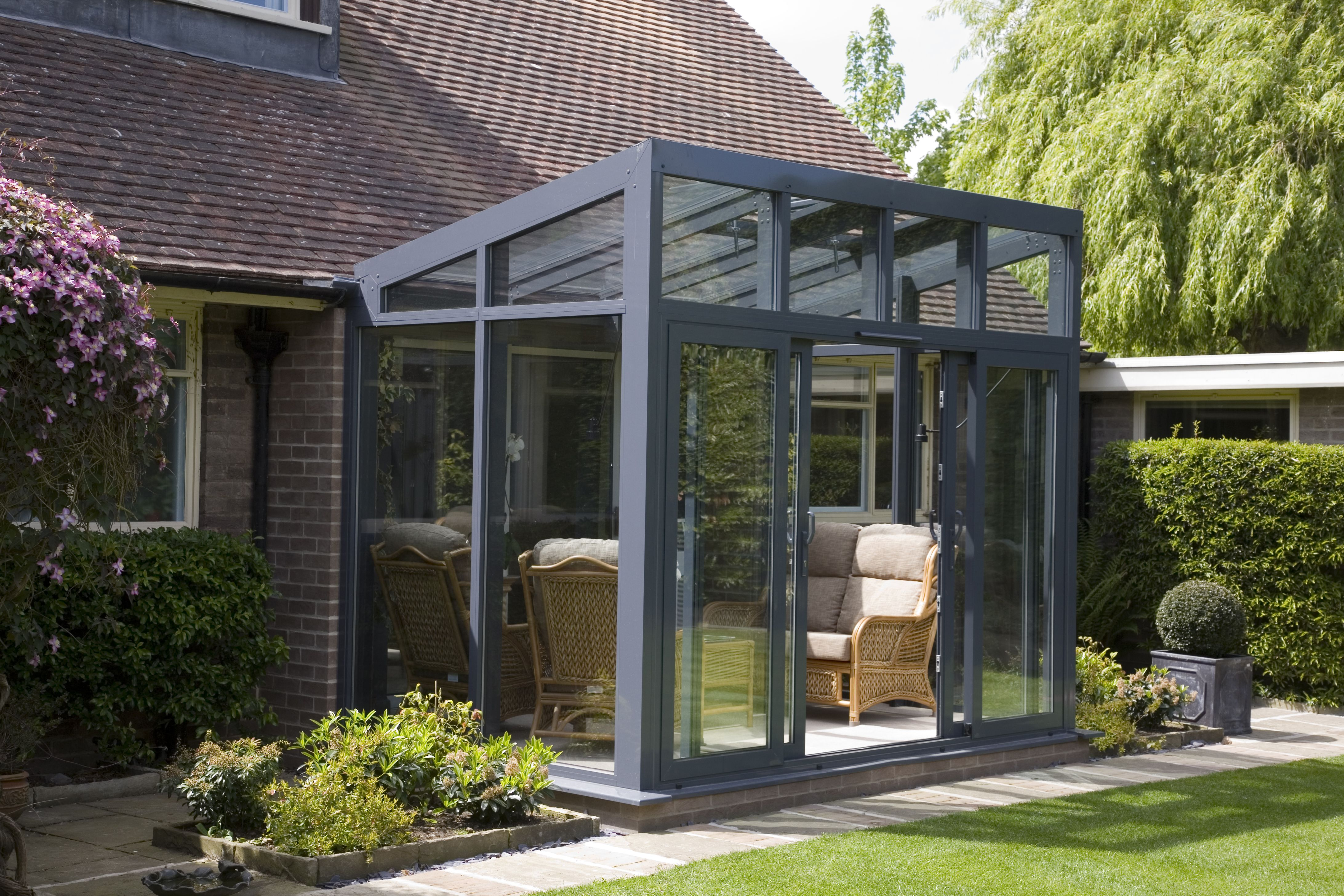 Conservatories concept windows and conservatories essex - Reverse Lean To Conservatory Google Search