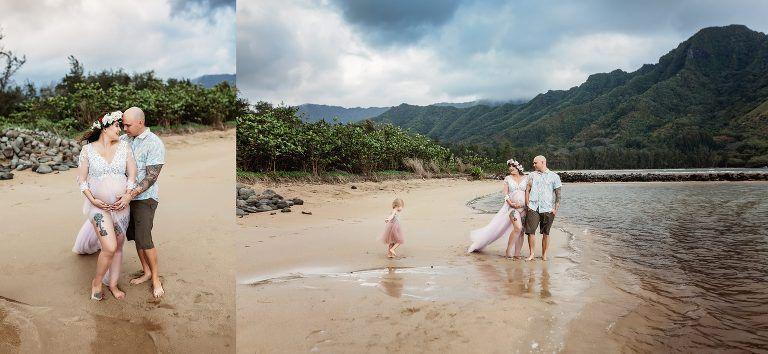 Pin on Beach maternity photosession, Oahu, Hawaii