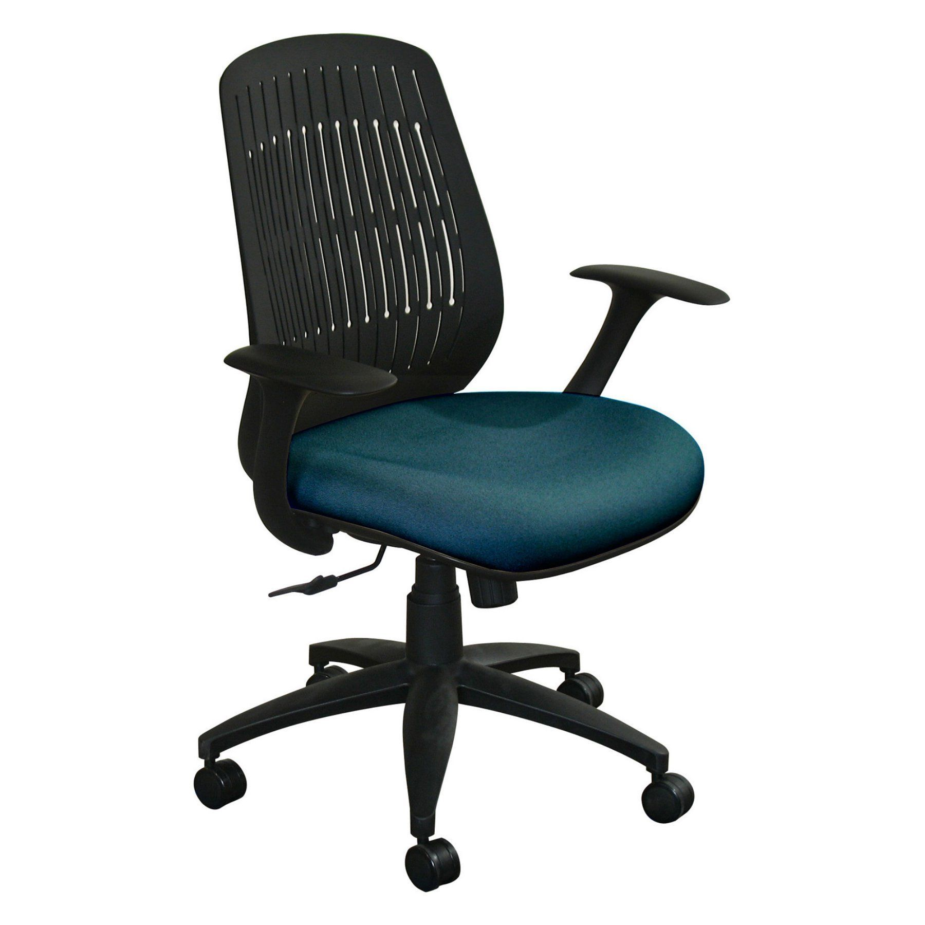 Fermata wave chair with black base wpcopfb products