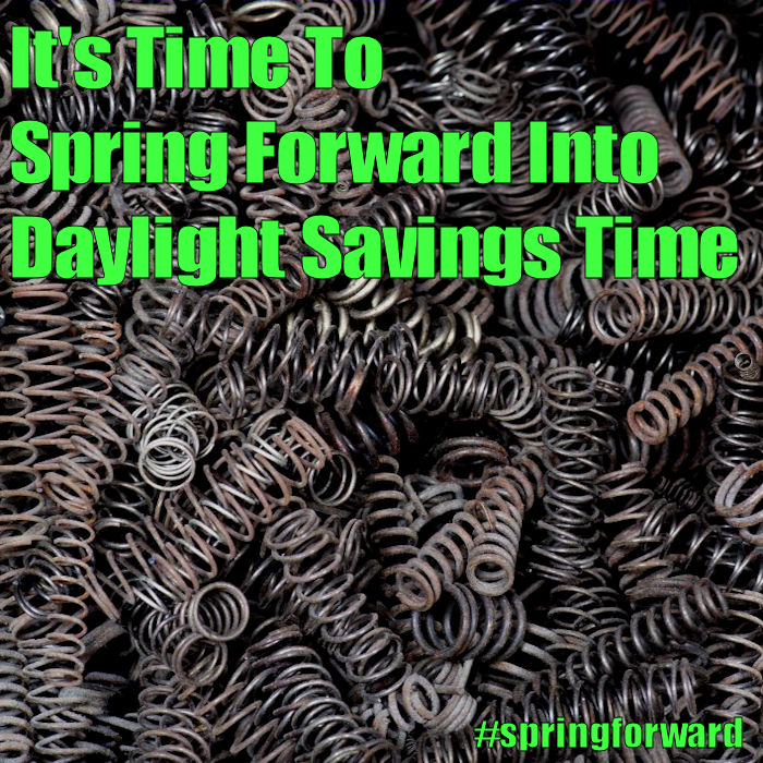 Daylight Saving Time begins - March 12, 2017
