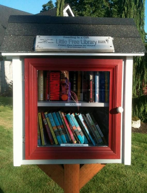 Take A Book Leave Little Free Library Plans