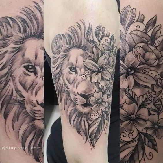 75 Tatuajes De Leones Para Mujer 2018 Brillantes Tattoos Para