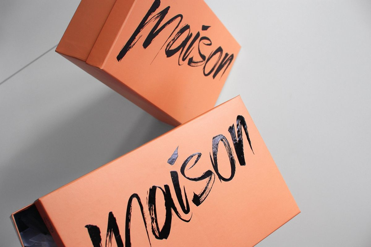Shoe box - http://www.homework.dk/clients/maison/shoe-box/
