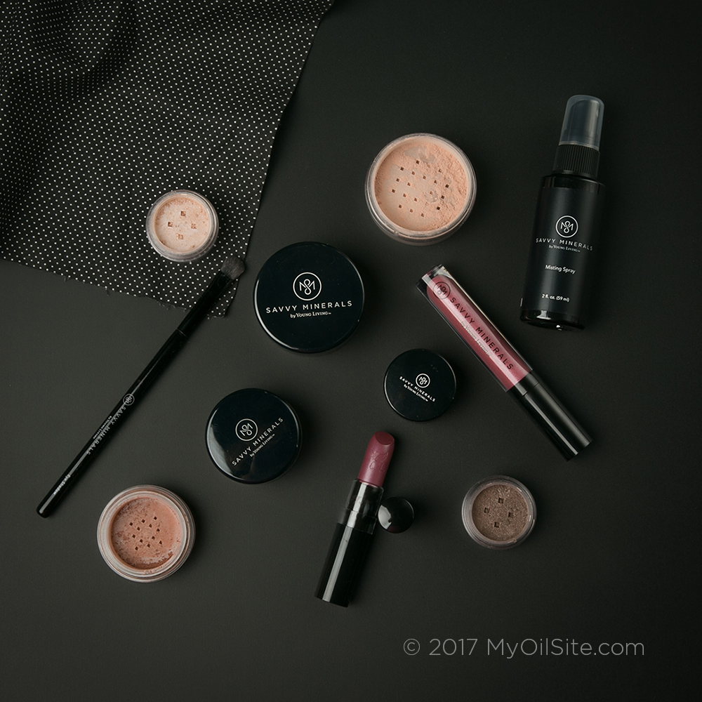 This is Huge! Young Living's Savvy Minerals Cosmetics