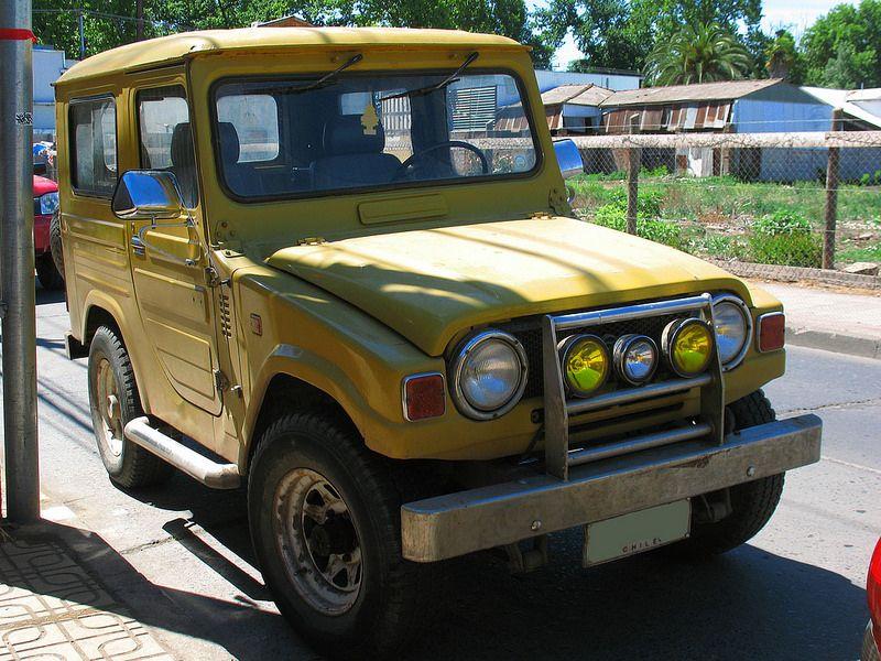 Daihatsu Lf 20 1980 Daihatsu Suv Four Wheel Drive