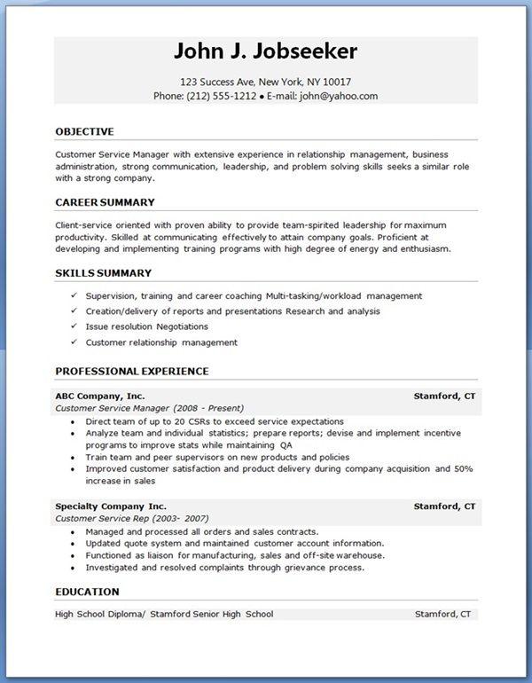 Free Resume Job Templates Freeresumetemplates Resume Templates Sample Resume Templates Resume Template Professional Job Resume Format